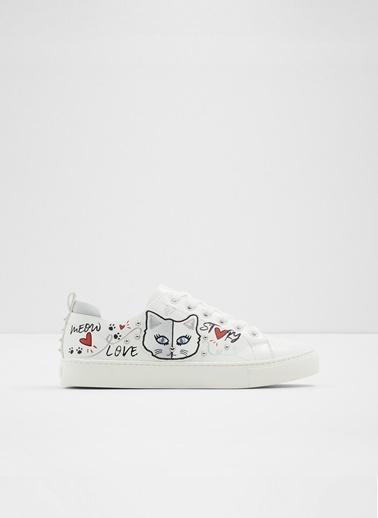 Aldo Minou - Beyaz Kadin Sneaker Beyaz